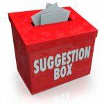 صندوق الشكاوى والمقترحات
